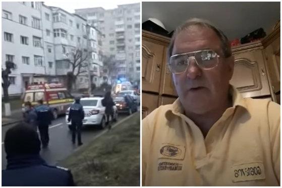 Moroşan, criminalul din Oneşti, a fost transferat la Spitalul Judeţean Bacău